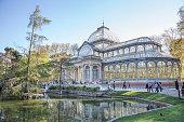Palacio de Cristal, Parque del Buen Retiro, Madrid