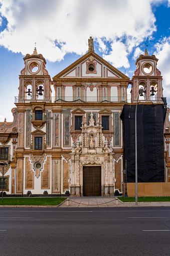 Palacio de la Merced in Cordoba Plaza de Colon, Andalusia, Cordoba, Spain.