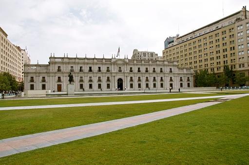 Palacio de La Moneda in Santiago Chile