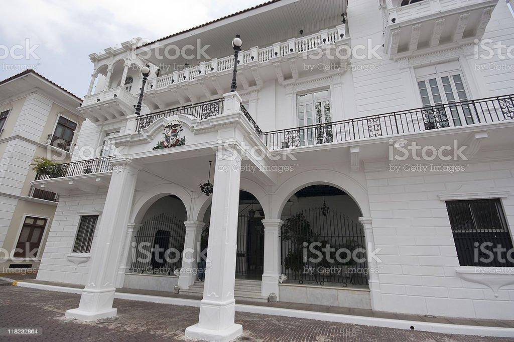 Palacio de las Garzas in Panama stock photo