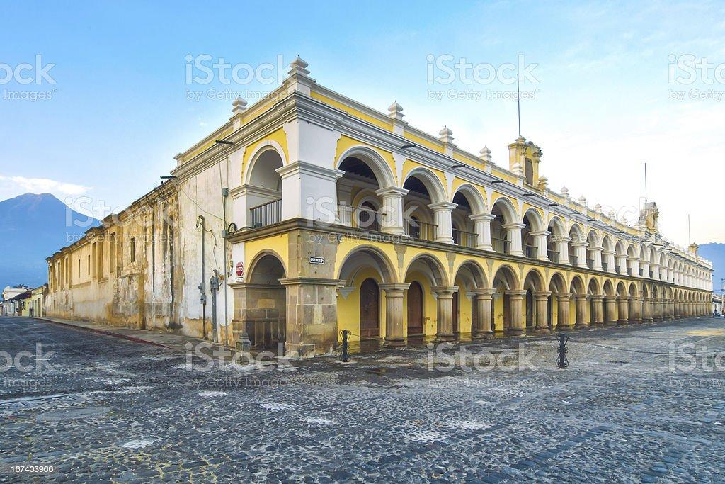 Palacio de los Capitans Antigua, Guatemala - foto de stock