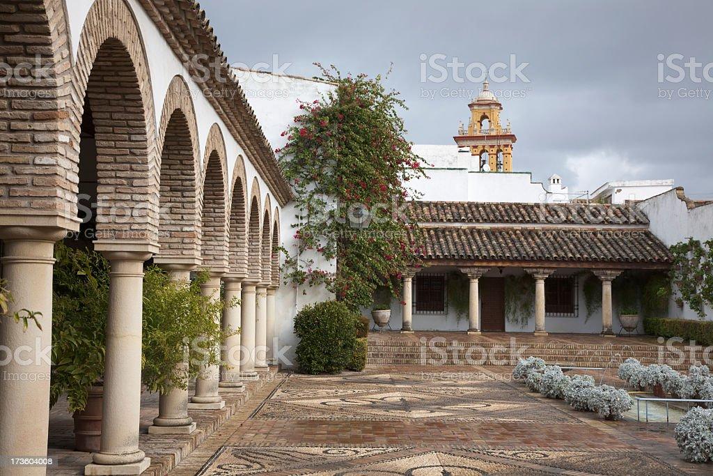 Palacio de Viana stock photo