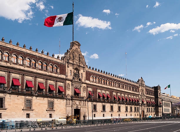 팔라 내시오날, 멕시코 - 멕시코 뉴스 사진 이미지