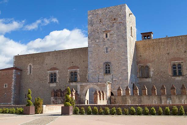 Palais des Rois de Majorque stock photo