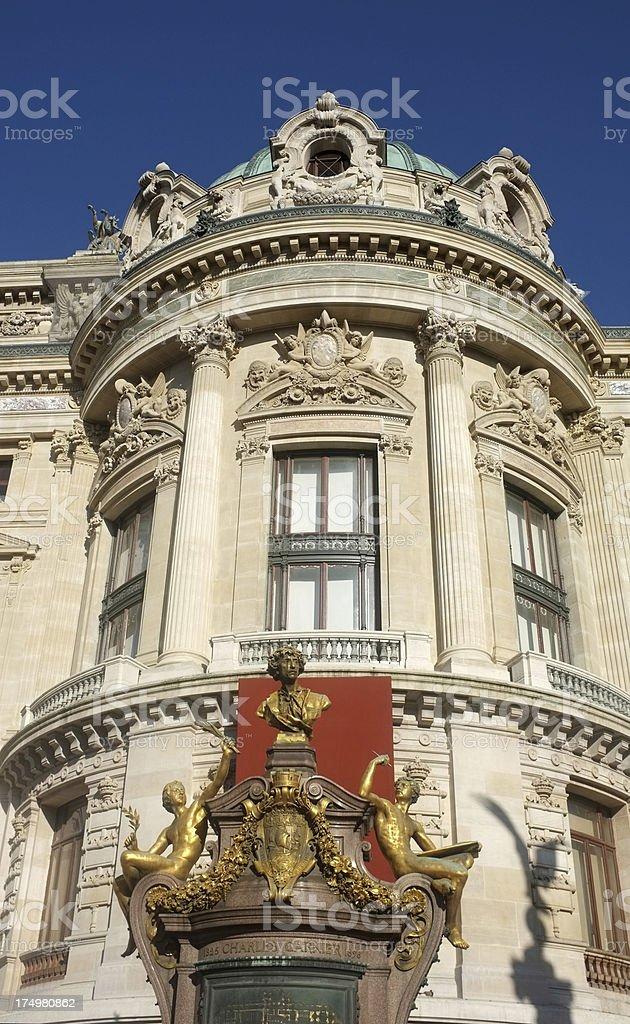 Palais Garnier, The Paris Opera House royalty-free stock photo