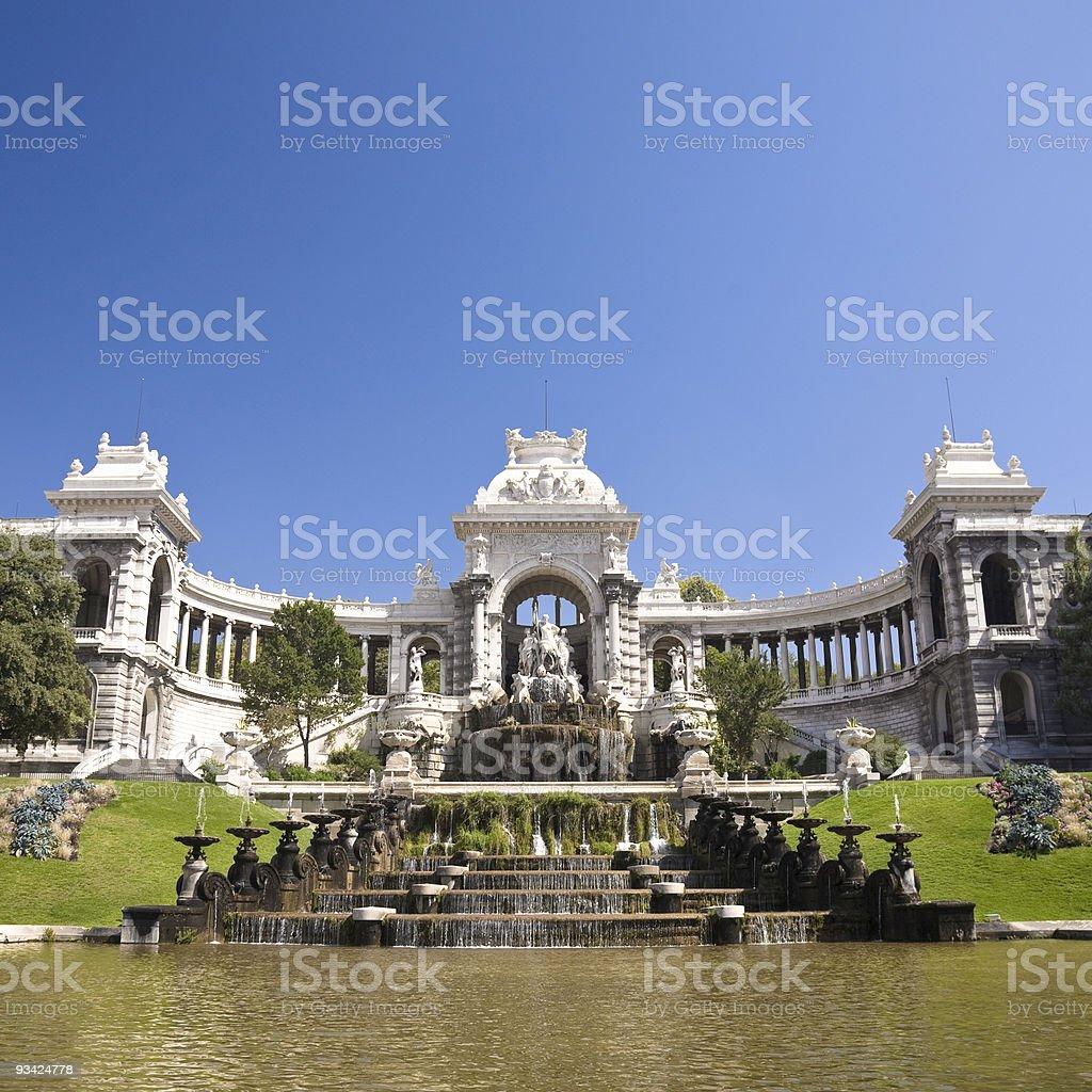 palais longchamp marseille stock photo