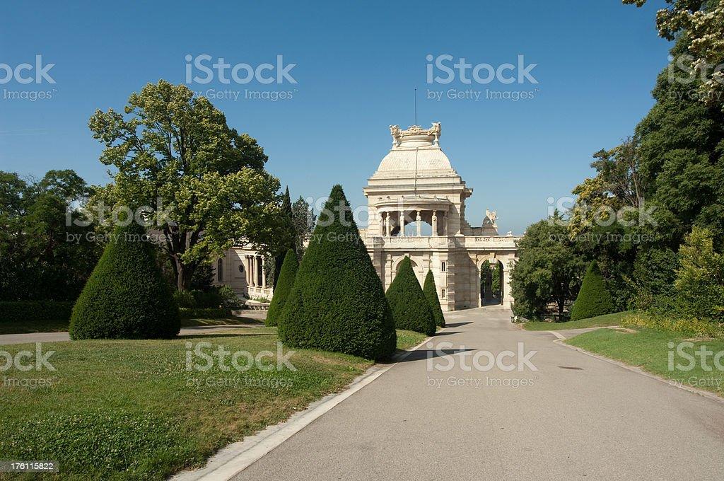 palais longchamp royalty-free stock photo