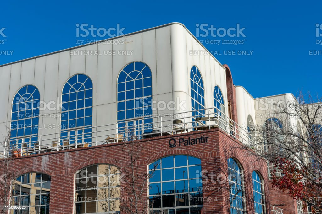 Palantir Headquarters In Silicon Valley Stock Photo & More