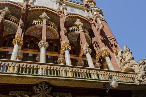 Palau de La Musica Catalana.
