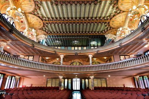 Palau de la Musica in Barcelona