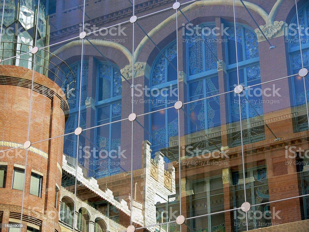 Palau De La Musica stock photo