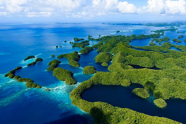 Palau Ngeruktabel Island - World heritage site - – Foto
