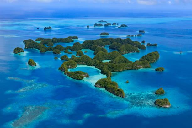 Palau siebzig Insel - UNESCO-Welterbe- – Foto