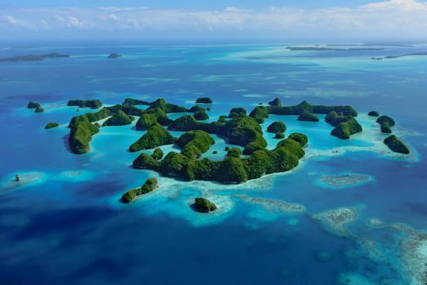 Palau World Heritage Felsinseln südlichen Lagune – Foto