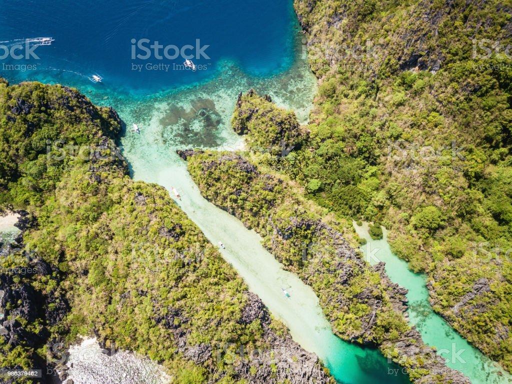 Palawan Miniloc Island Small Lagoon And Big Lagoon El Nido