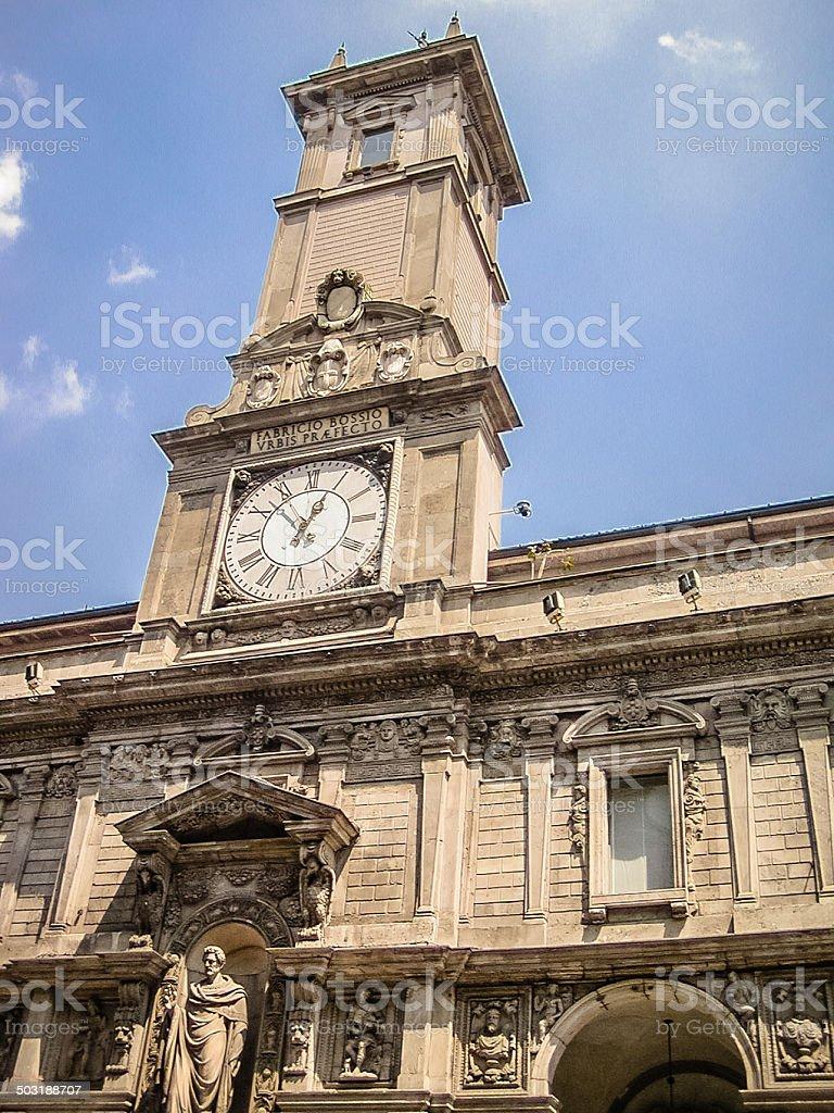 Palazzo Affari royalty-free stock photo