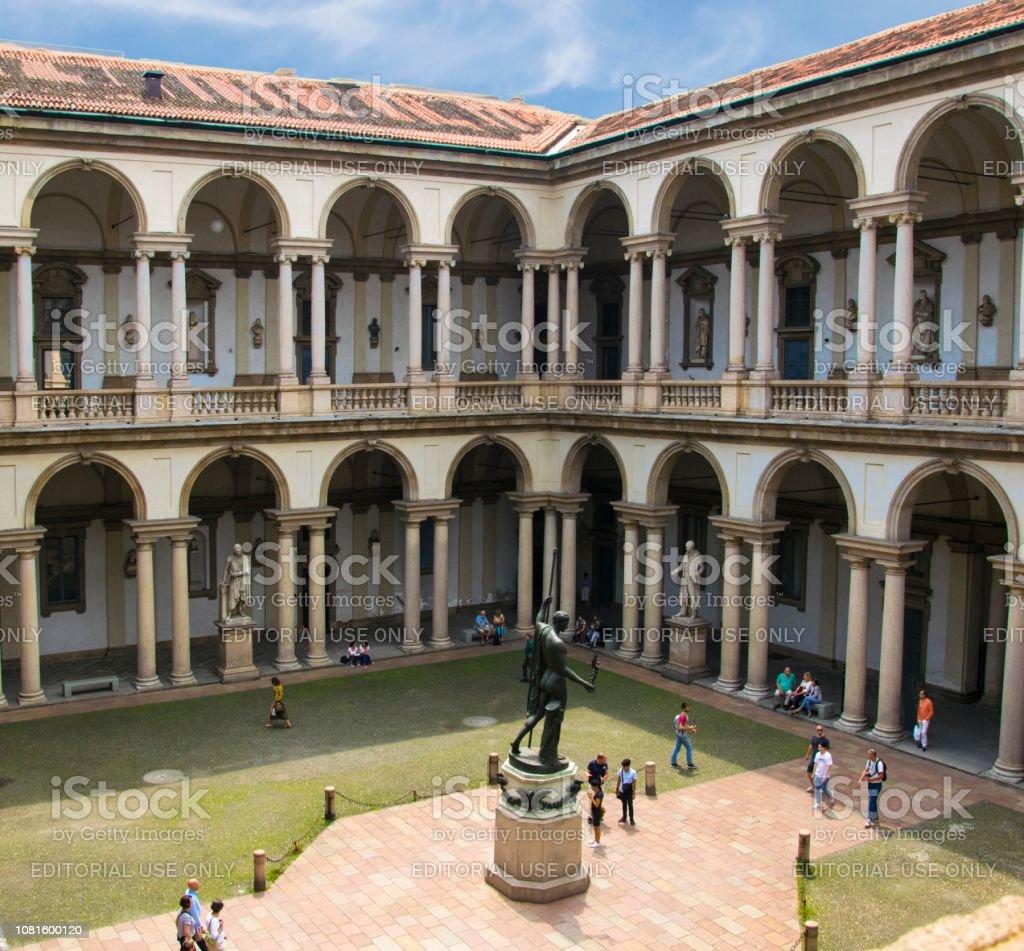 Palazzo Brera, Milano, Italia - foto stock
