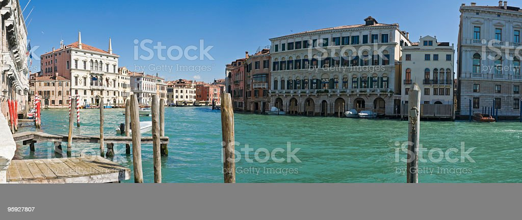Palazzo Canále Grande Venezia royalty-free stock photo
