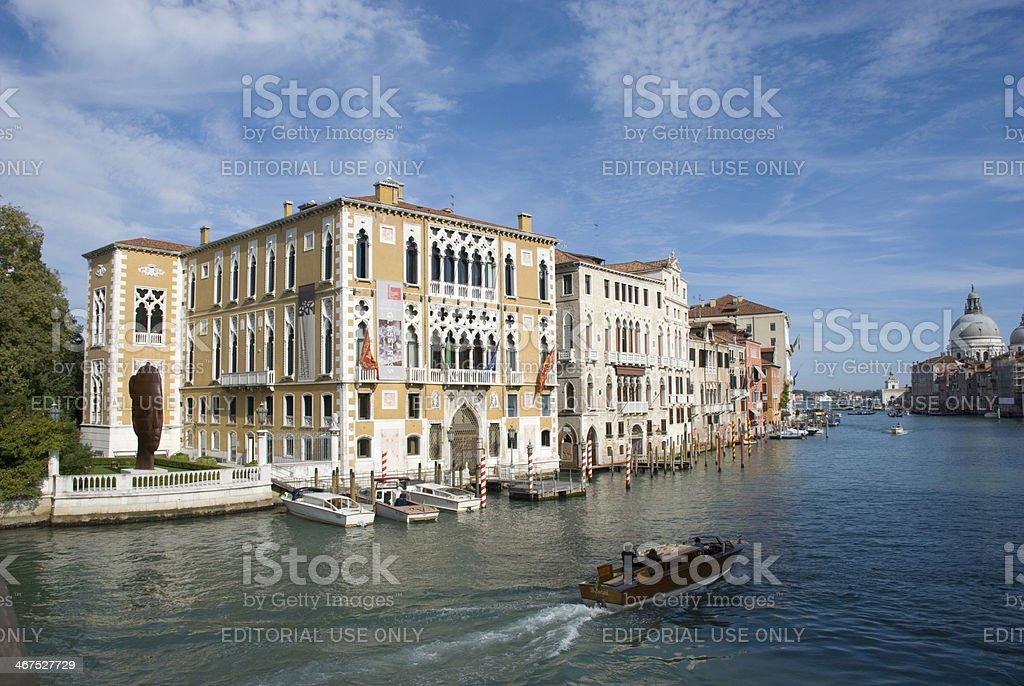 Palazzo Cavalli Franchetti, venice - italy stock photo