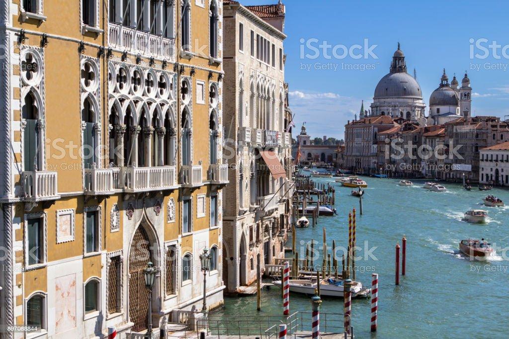 Palazzo Cavalli Franchetti, Venice stock photo