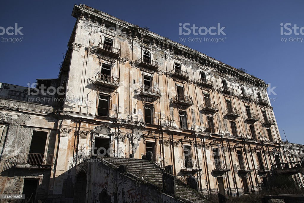 Palazzo Delboeuf Porto Del Granatello Portici Fotografie Stock E Altre Immagini Di Ambientazione Esterna Istock