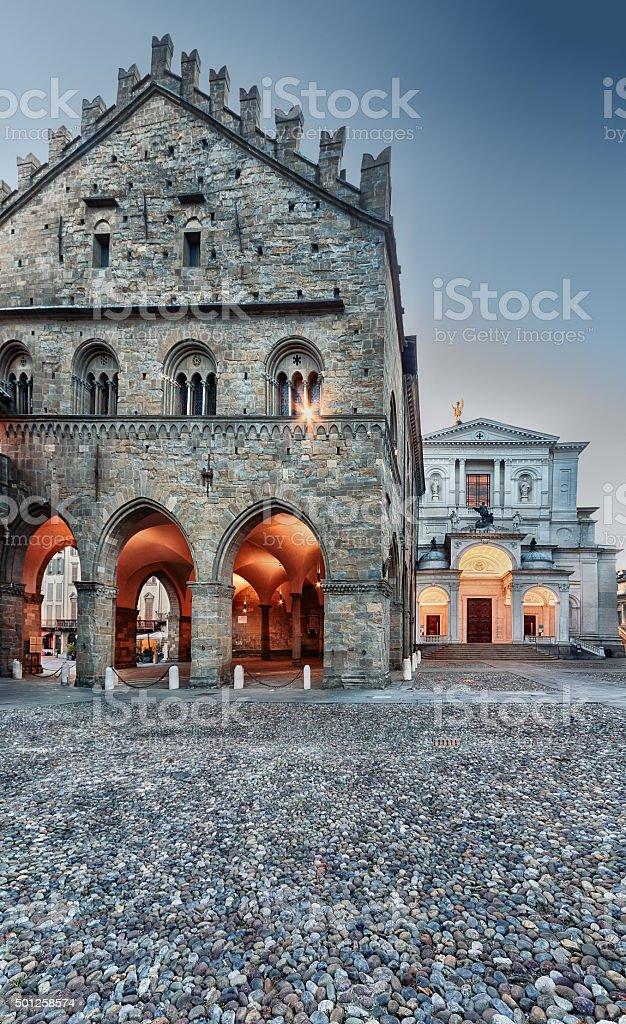 Palazzo della Ragione - foto de stock