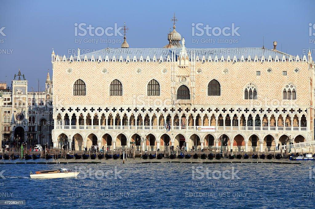 Palazzo Ducale di Venezia royalty-free stock photo