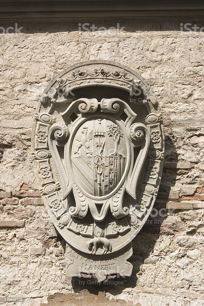 Palazzo Ducale Gubbio royalty-free stock photo
