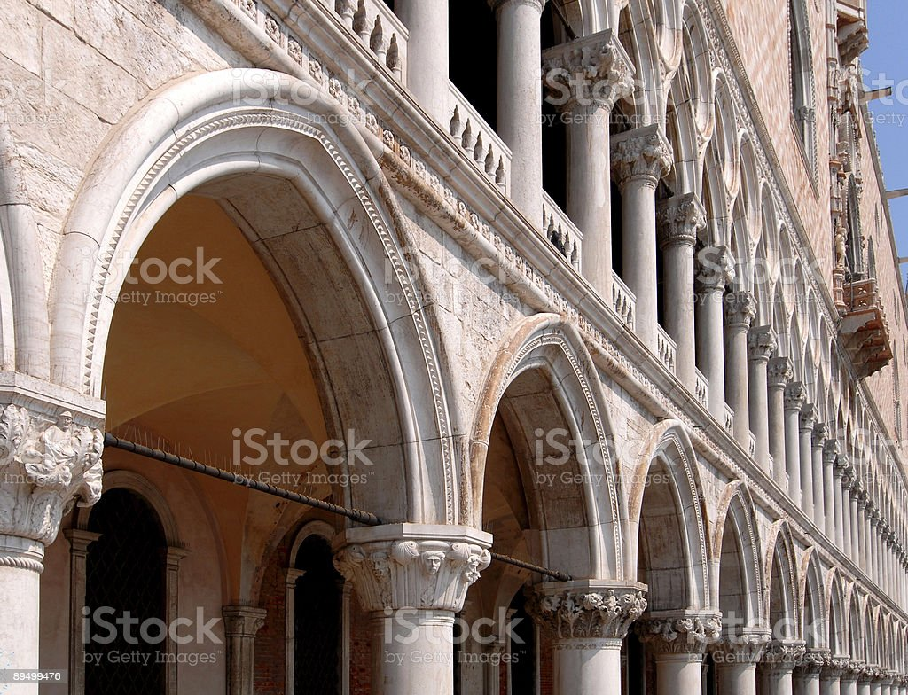 Palazzo Ducale zbiór zdjęć royalty-free