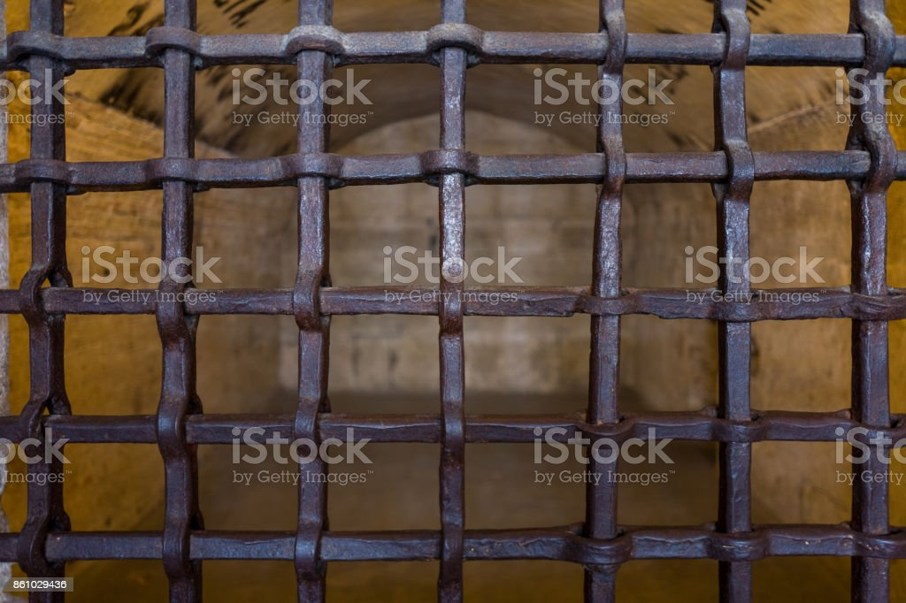 Palazzo Ducale Prisons in Venice stock photo