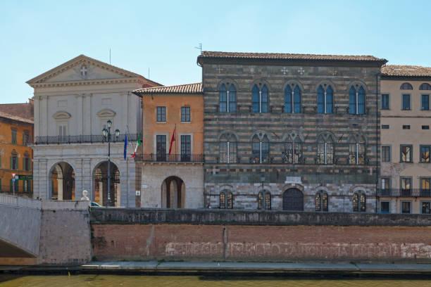Palazzo Gambacorti in Pisa stock photo