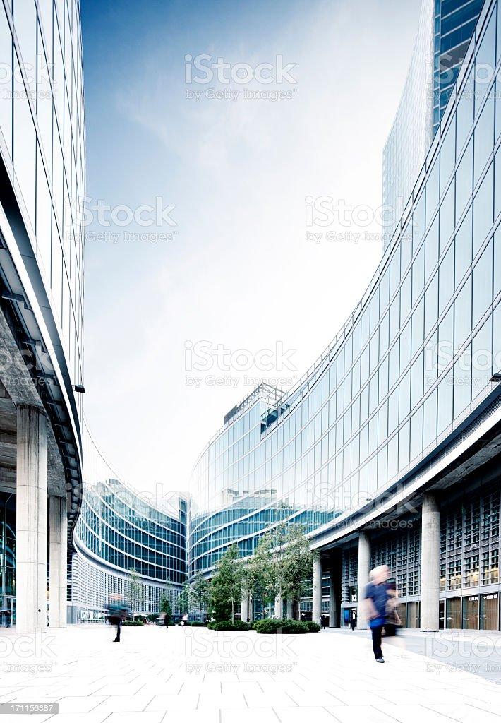 Palazzo Lombardia, Milano stock photo