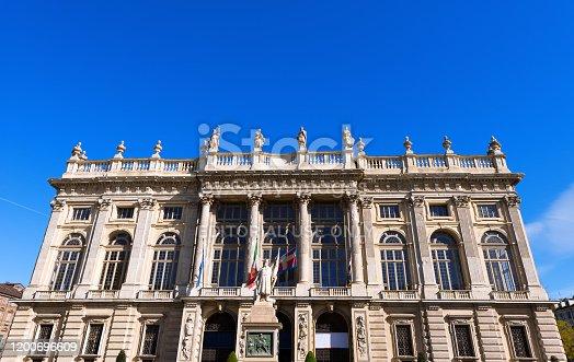istock Palazzo Madama e Casaforte degli Acaja - Turin Italy 1200696609