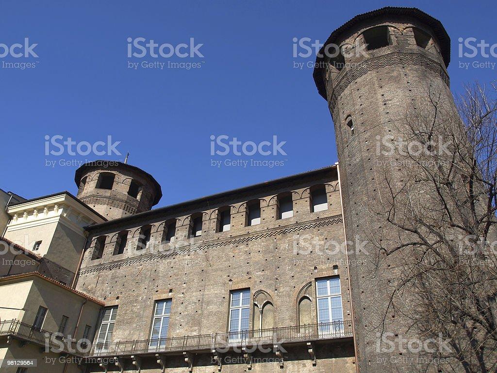 Palazzo Madama, Turin royalty-free stock photo
