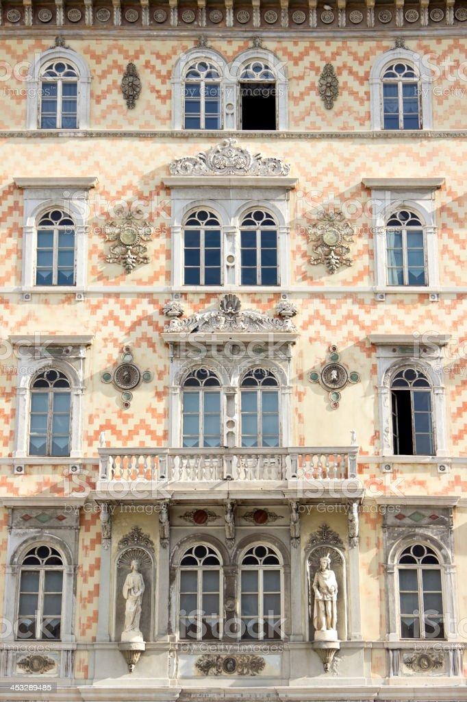 Palazzo Storico stock photo