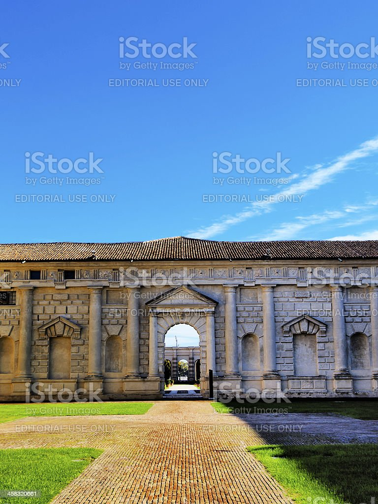 Palazzo Te, Mantua stock photo