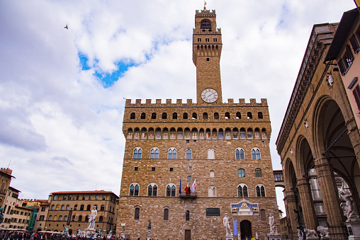 Palazzo Vecchio in Florence,Italy