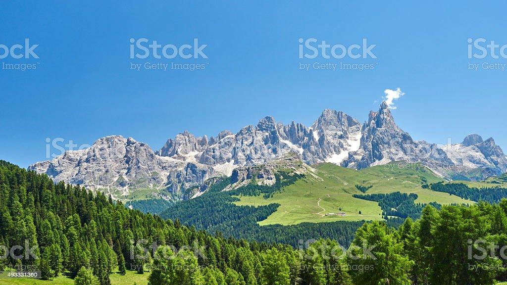Pale Di San Martino stock photo