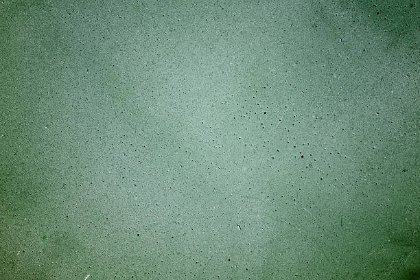 Pale green clay wall tile stock photo