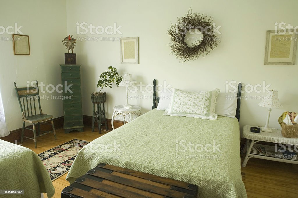 Pale Green Room royalty-free stock photo