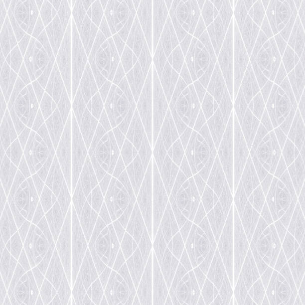pale grey sgraffito fractal background design - whiteway fractal stock photos and pictures