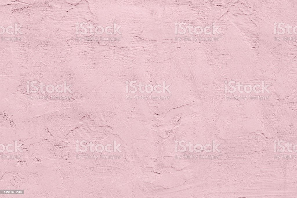 pale pink rough textured concrete background stock photo