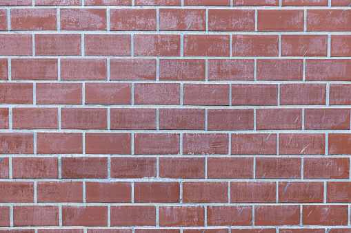 905087856 istock photo pale red brick wall background texture. 1132210155