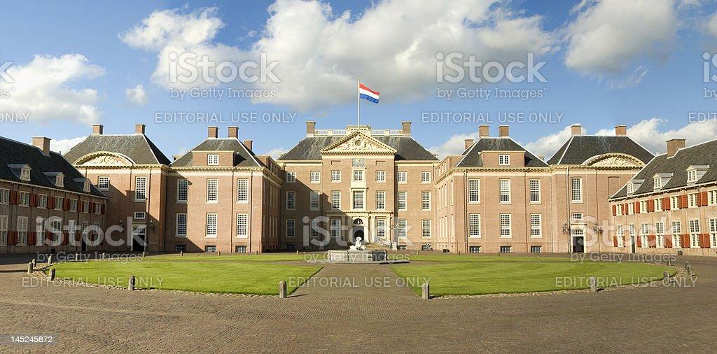 Paleis Het Loo (Royal Palace in Apeldoorn, The Netherlands) stock photo