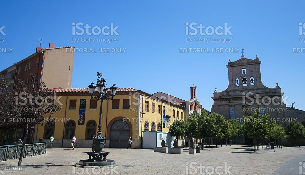 Palencia, Castile and Leon, Spain stock photo