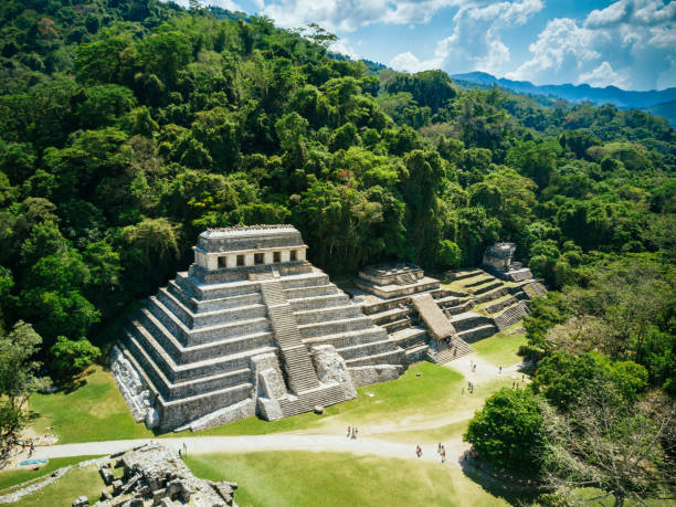 palenque chiapas mexico - mexico stock photos and pictures