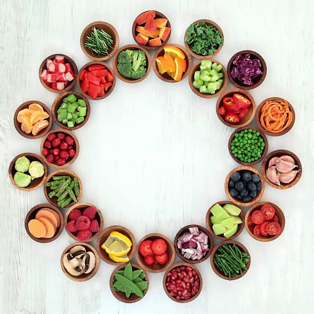 paleo ernährung gesundheit und super essen - paleo diät stock-fotos und bilder