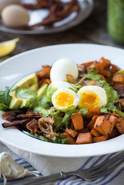 Paleo Salad stock photo