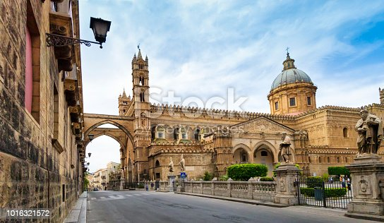 Photo of Palermo Cathedral, located at Palermo, Sicilia, Italy.