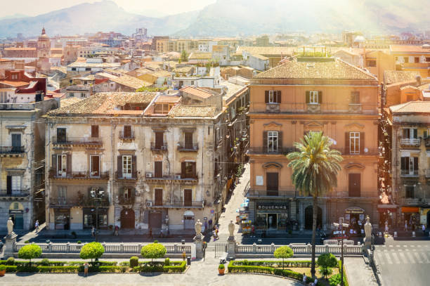 Palermo, Sicily stock photo